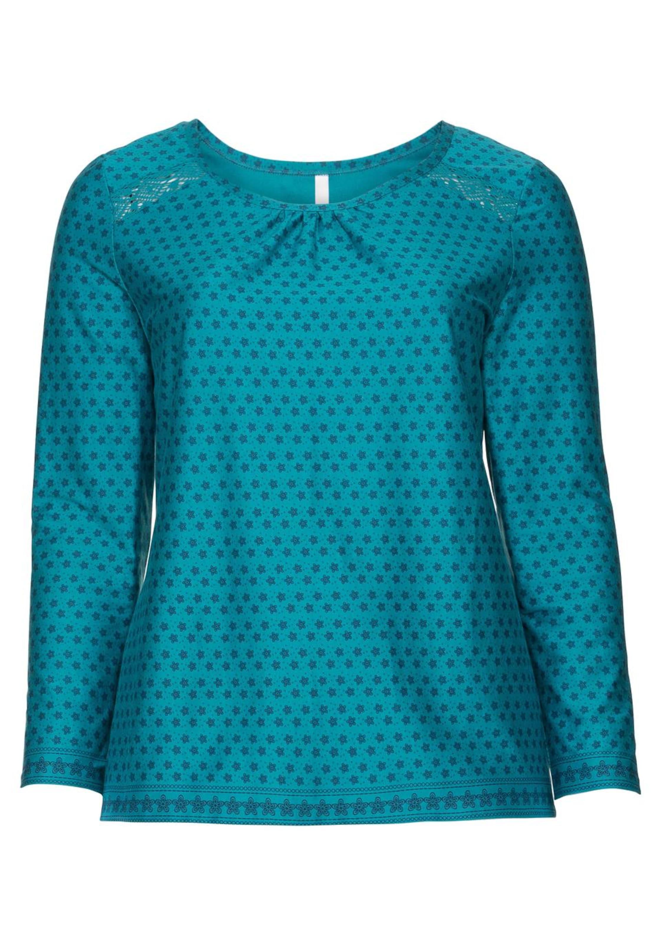In Sheego Sheego Shirt Sheego MarineTürkis In MarineTürkis Shirt bf6gyY7