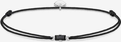 Thomas Sabo Armband 'Little Secret' in schwarz / silber, Produktansicht