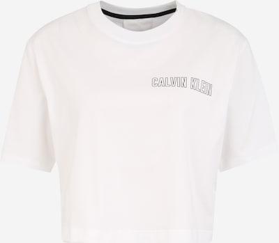 Tricou funcțional Calvin Klein Performance pe alb, Vizualizare produs