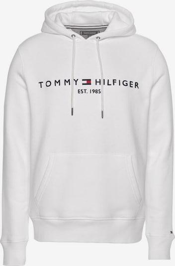 TOMMY HILFIGER Majica | mornarska / rdeča / bela barva, Prikaz izdelka