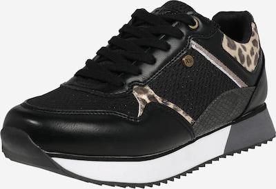 Xti Sneaker in braun / schwarz, Produktansicht