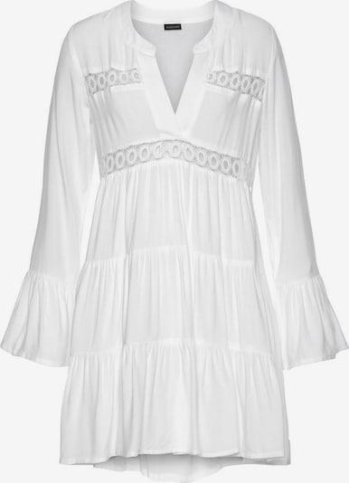 LASCANA Longbluse in weiß, Produktansicht