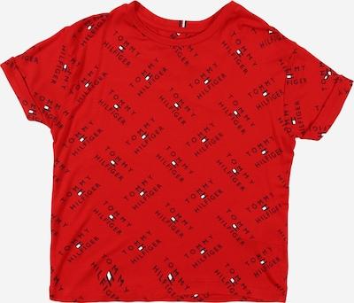 TOMMY HILFIGER Tričko - tmavomodrá / červená / biela, Produkt