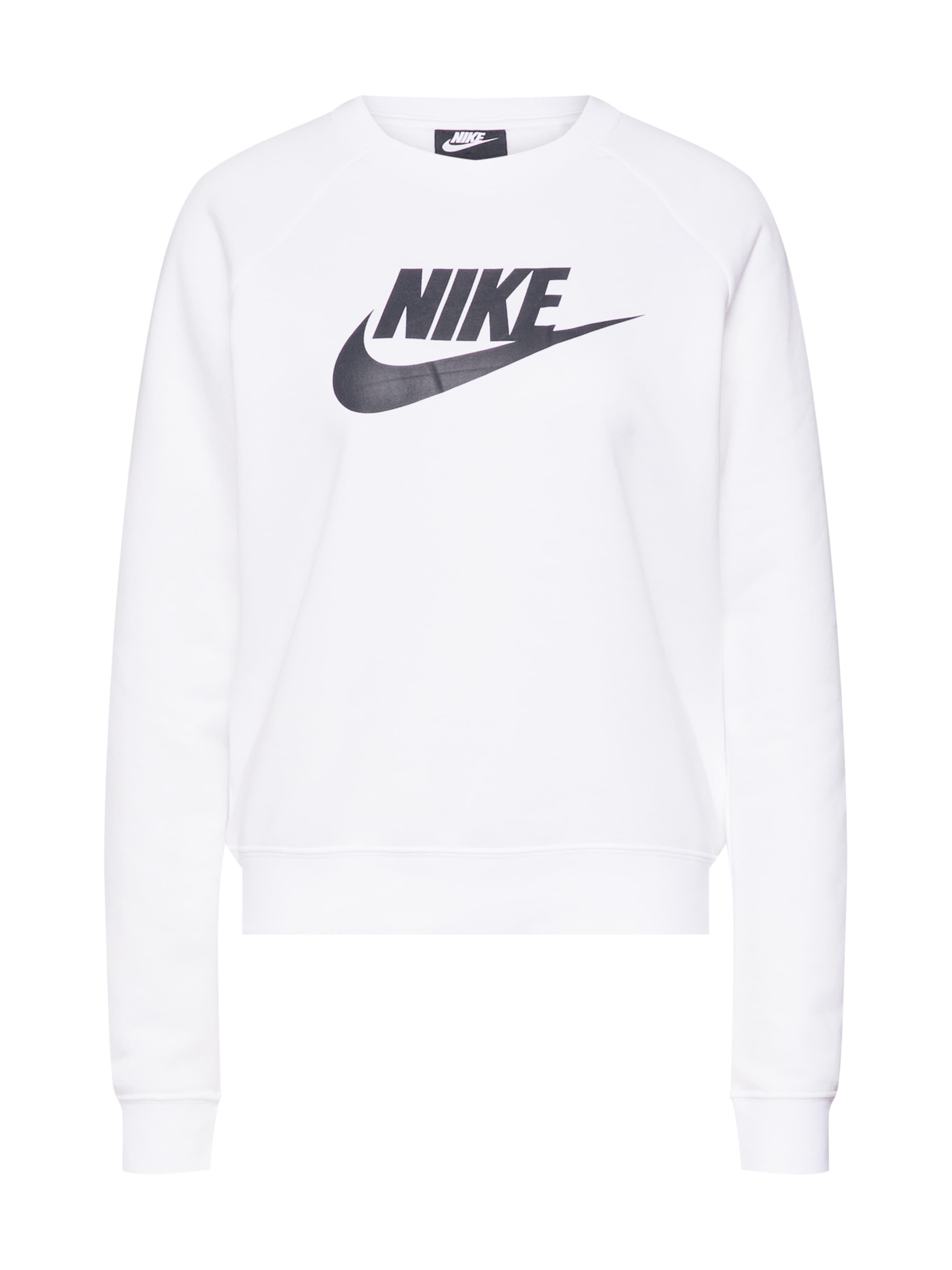 Blanc Nike En Sweat Sportswear 'essntl' shirt dthsQrxC