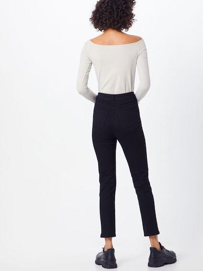 Jeans 'Joaline Jeans' ABOUT YOU pe denim negru: Privire spate