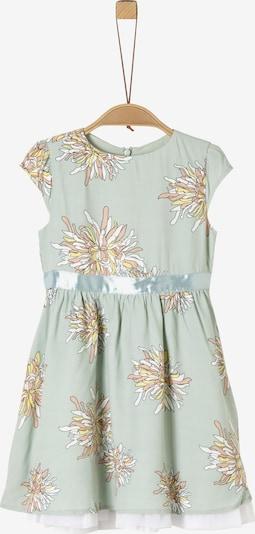 s.Oliver Kleid in pastellgrün / mischfarben / weiß, Produktansicht