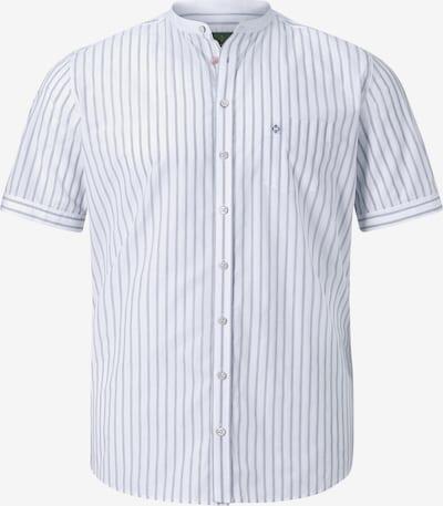 Charles Colby Kurzarmhemd ' Duke Keenan ' in weiß, Produktansicht