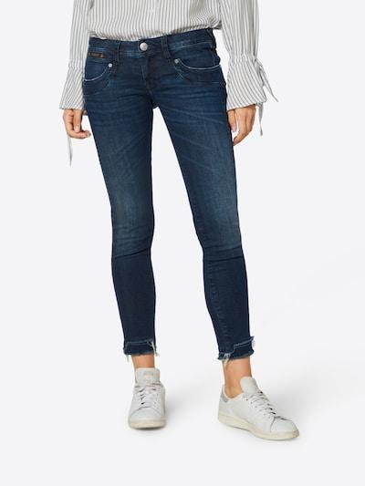 Herrlicher Jeans 'Piper Cropped Powerstretch' in dunkelblau, Modelansicht