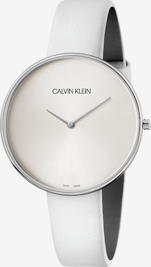 Calvin Klein Analoog horloge in de kleur Zilver / Wit, Productweergave