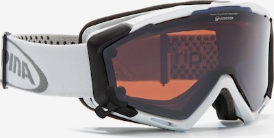 Alpina Skibrille 'PANOMA S Magnetic' in weiß, Produktansicht