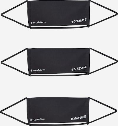 recolution Auduma maska '3er Pack STAYSAFE' melns, Preces skats