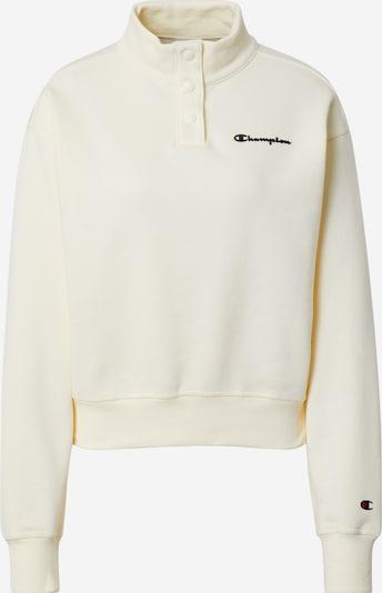 Champion Authentic Athletic Apparel Sweatshirt in creme / schwarz, Produktansicht