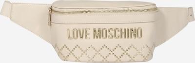 Love Moschino Gürteltasche 'Borsa' in beige / gold, Produktansicht