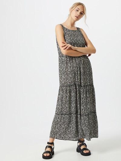 Hailys Jurk 'Alena' in de kleur Zwart / Wit: Vooraanzicht