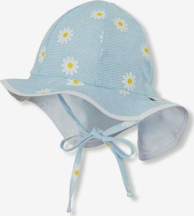 STERNTALER Hut in hellblau / gelb / weiß, Produktansicht