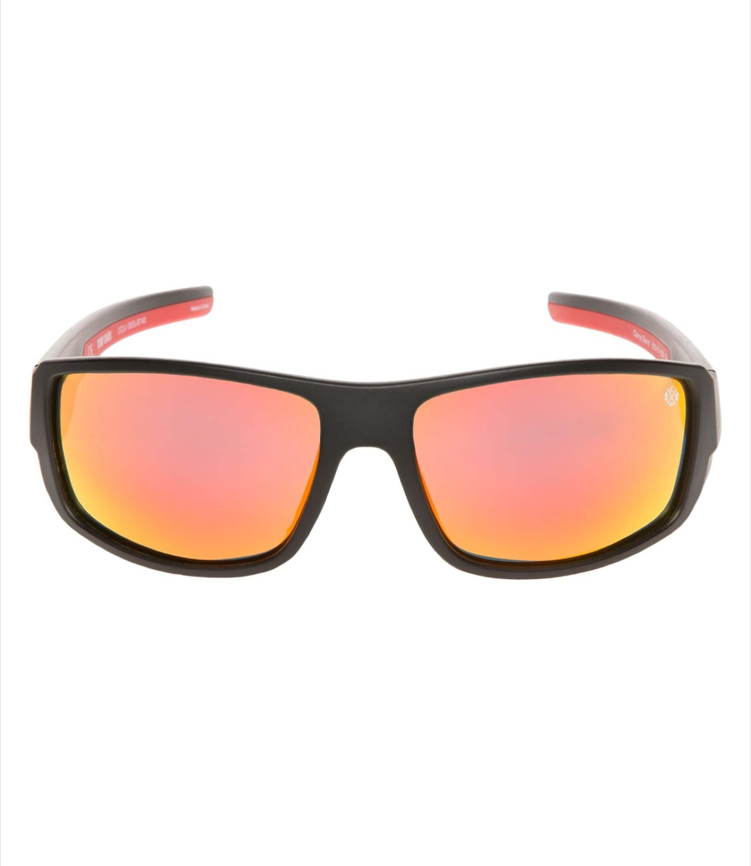 Sonnenbrille OrangerotSchwarz Camp In Camp Sonnenbrille David OrangerotSchwarz In David PXZwukiTO