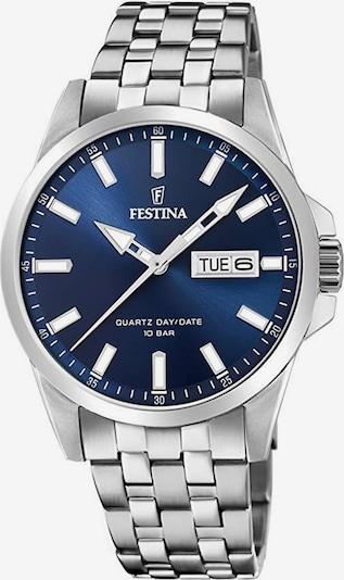 FESTINA Quarzuhr 'F20357/3' in blau / silber, Produktansicht