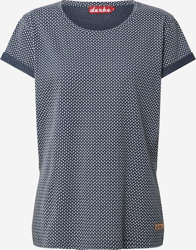 Derbe T-Shirt in navy / weiß, Produktansicht
