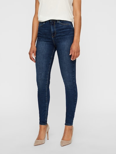 VERO MODA Skinny Fit Jeans 'Sophia' in blue denim, Modelansicht