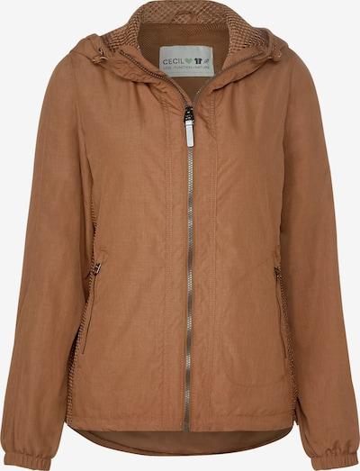 CECIL Windbreaker Jacke in braun, Produktansicht