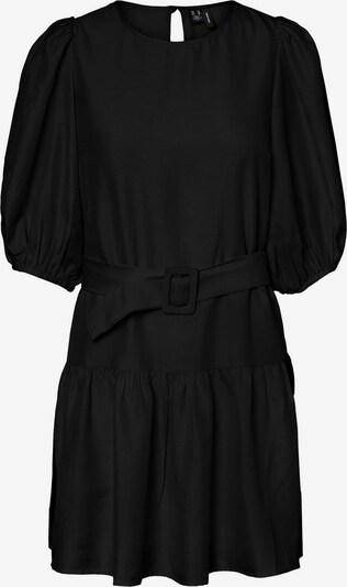 VERO MODA 2/4-Ärmel Kleid in schwarz: Frontalansicht