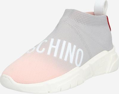 szürke / rózsaszín Love Moschino Rövid szárú edzőcipők, Termék nézet