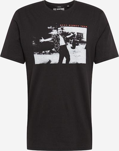 Marškinėliai 'ACEVENTURA' iš Only & Sons , spalva - šviesiai pilka / lašišų spalva / juoda, Prekių apžvalga