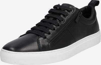 HUGO Sneaker 'Futurism Tenn' in schwarz: Frontalansicht