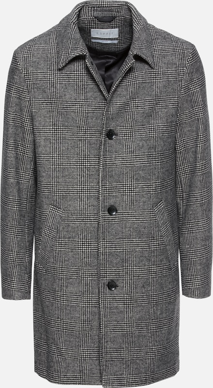 En Manteau saison 'check Gris Collection Coat' Mac Mi Esprit drtQshC