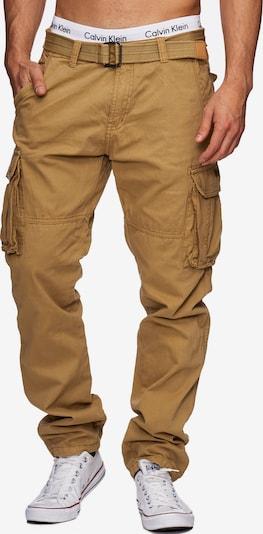 INDICODE JEANS Cargobroek ' William ' in de kleur Chamois, Productweergave