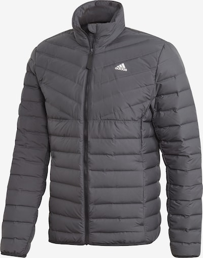 ADIDAS PERFORMANCE Jacket 'Varililte 3-Stripes Soft Down' in grau, Produktansicht