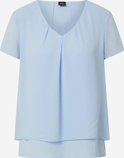 Bluză s.Oliver BLACK LABEL pe albastru deschis, Vizualizare produs