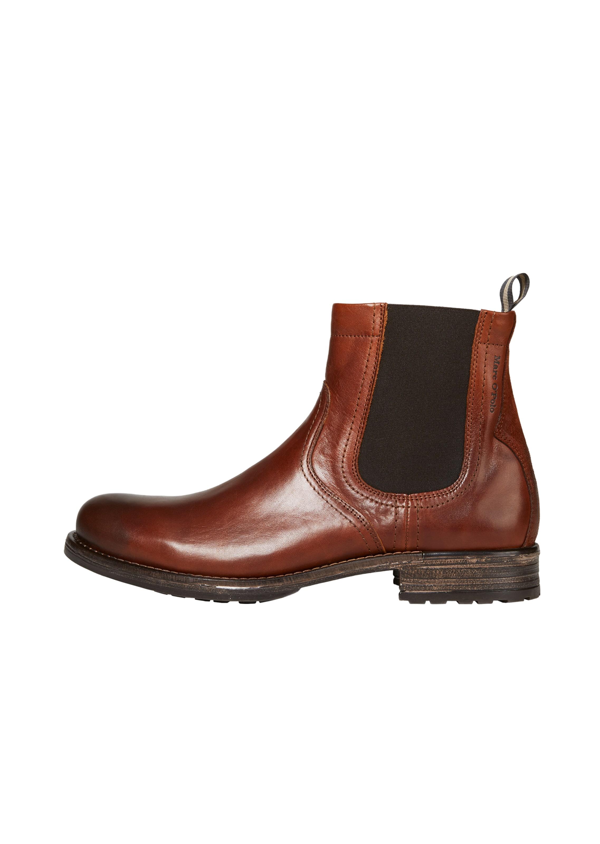 In RostbraunDunkelbraun Marc O'polo Chelsea Boots 9eDWIYEH2
