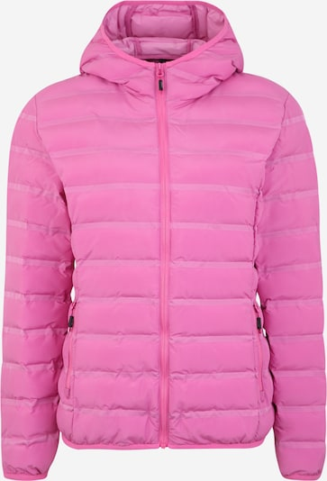 CMP Veste outdoor 'WOMAN JACKET FIX HOOD' en rose, Vue avec produit