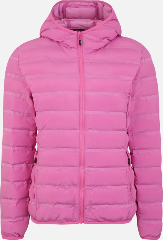 CMP Outdoorjas 'WOMAN JACKET FIX HOOD' in de kleur Pink, Productweergave