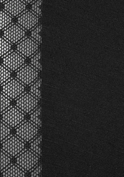 LASCANA Pyjamahose in schwarz, Produktansicht