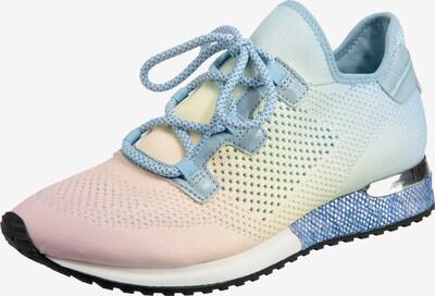 LA STRADA Sneaker in pastellblau / pastellgelb / pastellpink, Produktansicht