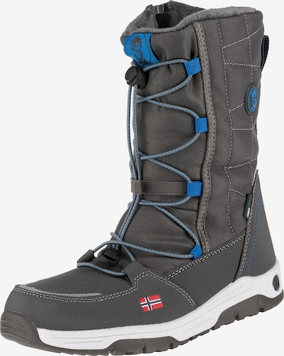 TROLLKIDS Boots 'NORDKAPP' in sky blue / dark grey, Item view