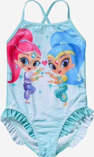 Shimmer & Shine Kinder Badeanzug in aqua, Produktansicht