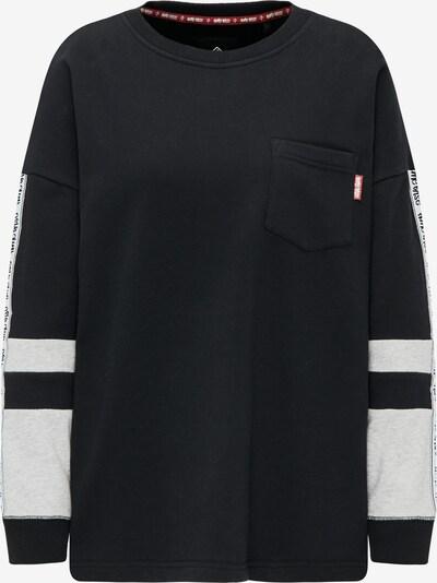 HOMEBASE Sweatshirt in grau / schwarz / weiß, Produktansicht