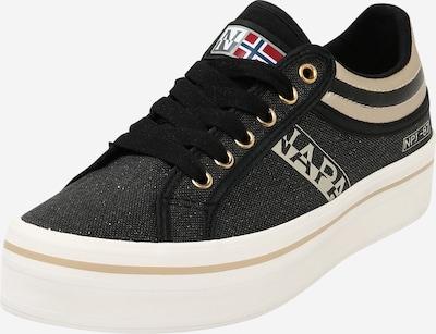 NAPAPIJRI Sneaker 'S0NEST02/Can' in gold / schwarz, Produktansicht
