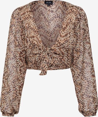 Bardot Bluse 'ABSTRACT' in beige, Produktansicht