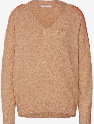 TOM TAILOR DENIM Pullover in camel / orange, Produktansicht