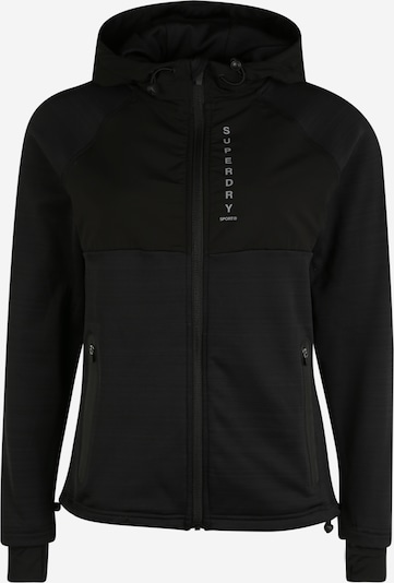 Superdry Sportlik trikoojakk must, Tootevaade