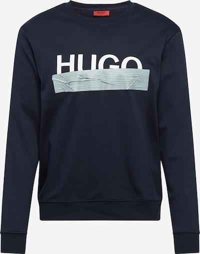 HUGO Sweater majica 'Dicago' u tamno plava / bijela, Pregled proizvoda