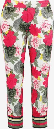 SAMOON Hose Freizeit verkürzt Hose Greta mit Flower-Print in mischfarben, Produktansicht