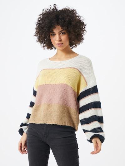 krém / sárga / rózsaszín VILA Pulóver 'VIPOLANA', Modell nézet