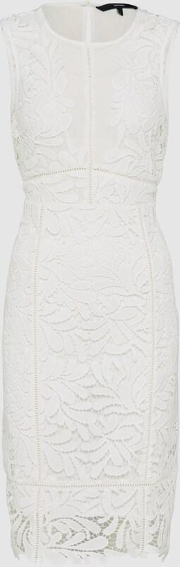 VERO MODA Kleid 'DUNHAM' in weiß  Großer Rabatt
