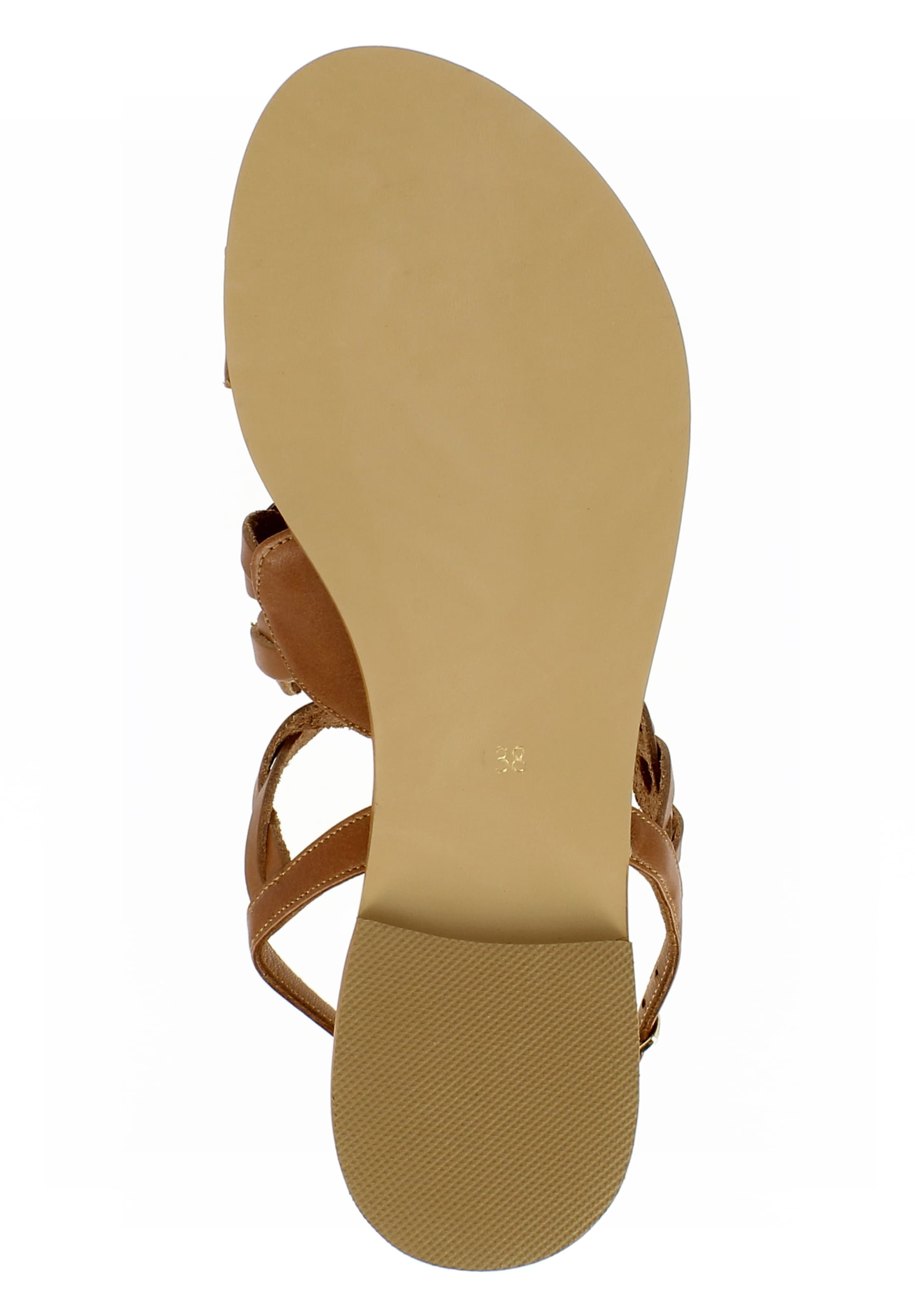 EVITA Sandale 'OLIMPIA' in braun