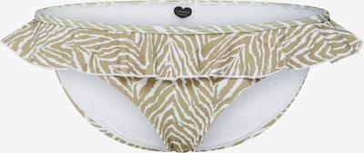 CATWALK JUNKIE Bikinibroek 'SAFARI' in de kleur Sand / Wit, Productweergave